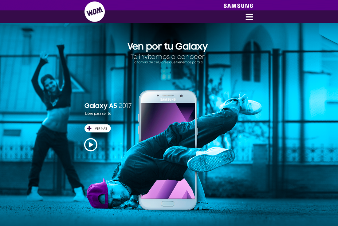 MiniSite Wom by Samsung