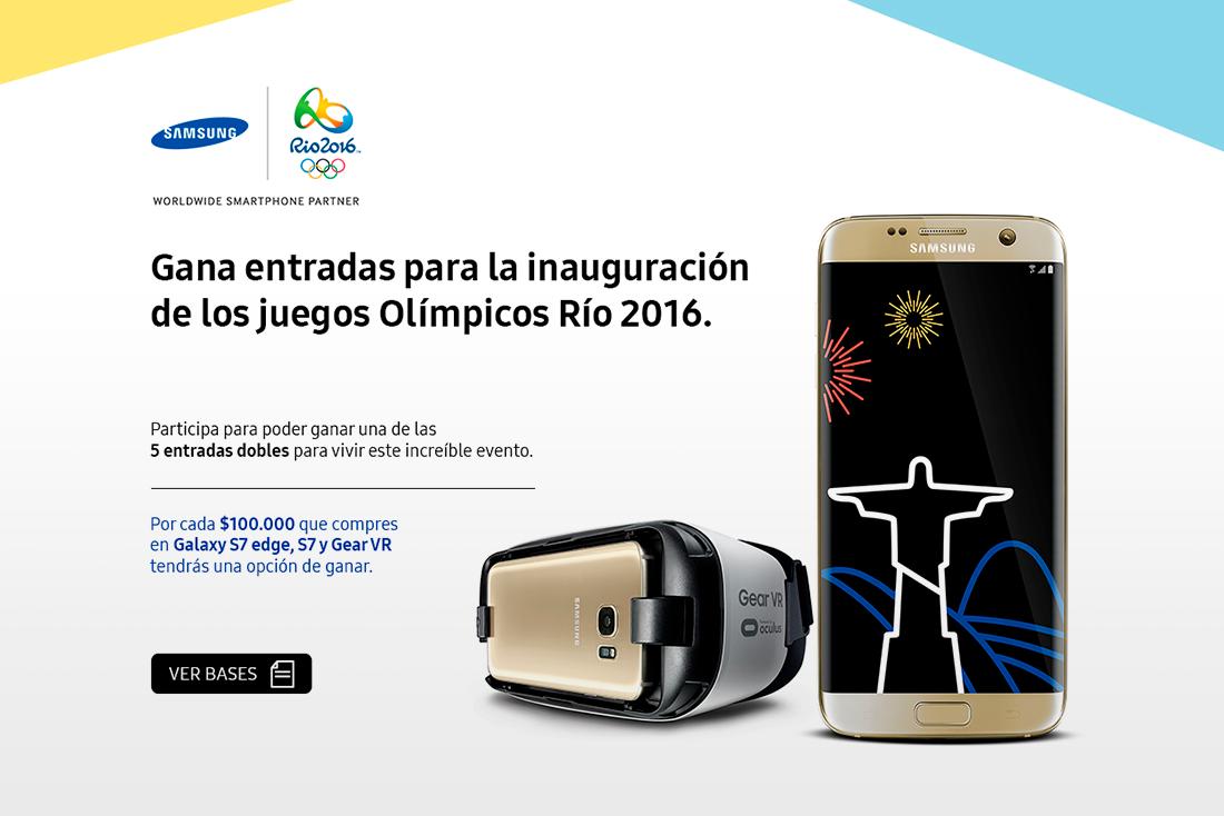 Olimpiadas 2016 by Samsung